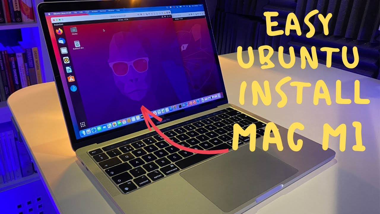 Mac M5 Ubuntu easy install!