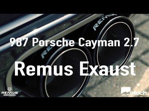 Motech Performance Porsche Cayman 987 Remus Exhaust