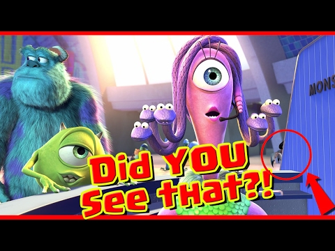 Thumbnail: Monsters inc. Easter Eggs and Hidden Messages