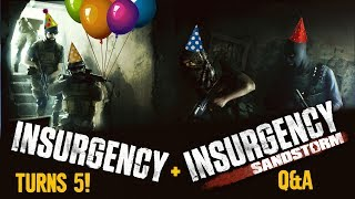 Insurgency's 5th Anniversary and Sandstorm Q&A!