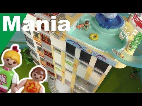 مبنى عالي بحمام سباحة على السطح - عائلة عمر - أفلام بلاي