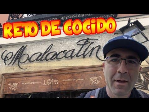 El reto del Cocido Madrileño de Malacatín - ¿Conseguiré terminármelo?