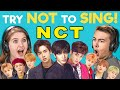 FBE REACTS TO TRY NOT TO SING ALONG CHALLENGE NCT EDITION