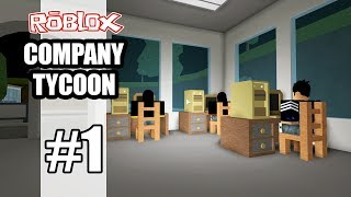 ROBLOX | THE CHICKEN INDUSTRY WANT TO STARTING A BUSINESS SHOULD OPEN THE COMPANY | Company Tycoon #1