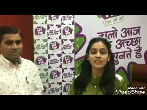 94.3 MY FM interview of Yogesh Joshi Director , Rapid Organic