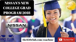 Nissans New College Grad Program 2018 Explained - New/Used Car Auto Loan Finance/Lease/Altima/Rogue
