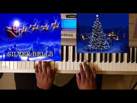 SILVER BELLS (CHRISTMAS SONG) PIANO TUTORIAL C Major