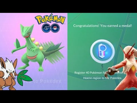 Download Youtube: MY SCEPTILE! IS IT WORTH POWERING UP? BLAZIKEN NEW MOVESET - POKEMON GO