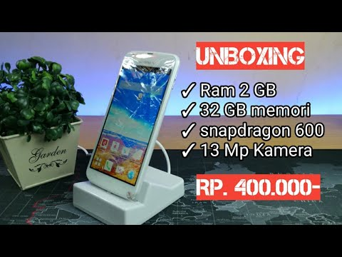 Unboxing Android Murah 400 rb Sharp 06E