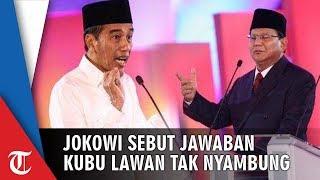 Jokowi Sebut Prabowo-Sandiaga Tak Nyambung Jawab soal