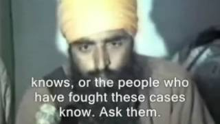 Sant Jarnail Singh Ji Khalsa Bhindranwale Speech With English Subtitle
