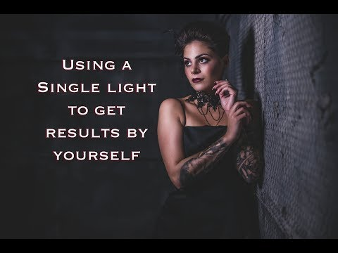 How to Use a Single Light with Modifiers to Get Results for YOURSELF! // Rotolight Neo 2-Canon EOS R