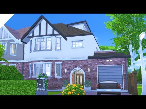 Modern London Suburban | Parenthood | The Sims 4: Speed Build (CC Free)
