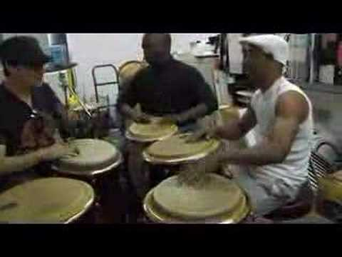 Monday rumba at Las Vegas drum shop