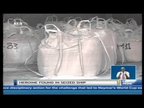 Kenya navy nab  ship transporting heroine that had a dead Pakistani on board