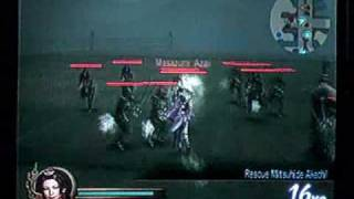 Samurai Warriors 5th and 6th weapons guide: Noh's 6th, Mamushi at Anegawa part 1