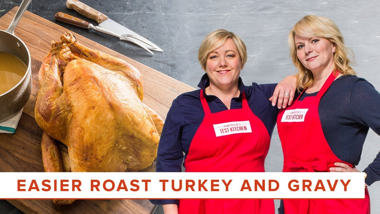How To Make Our Easier Roast Turkey And Gravy Youtube
