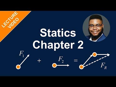 MECH 1321: Statics - Chapter 2.1-2.3