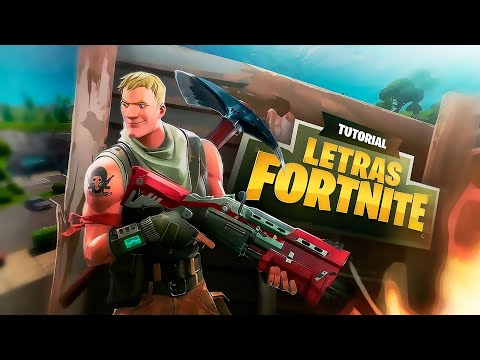 COMO HACER LAS LETRAS DE FORTNITE TOTALMENTE DESDE ANDROID!!!// TUTORIAL PS TOUCH// @dzn_gio