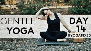Gentle Yoga and Pranayama Day 14 With Fightmaster Yoga
