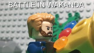 LEGO AVENGERS INFINITY WAR BATTLE IN WAKANDA