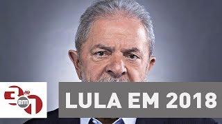 DataFolha: Lula lidera intenções de voto na corrida presidencial