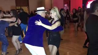 OSMAR PERRONES &  ANITA SANTOS RUBIN SALSA DANCE @ SEATTLE SALSA CONGRESS 2017