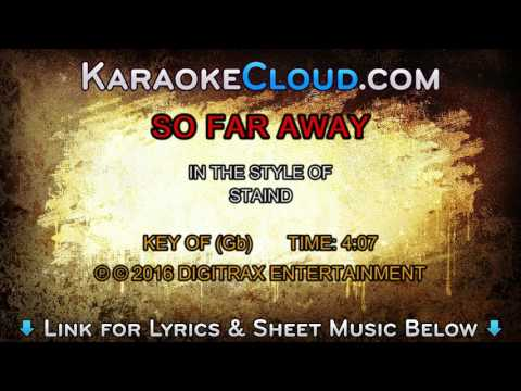 Staind - So Far Away (Backing Track)