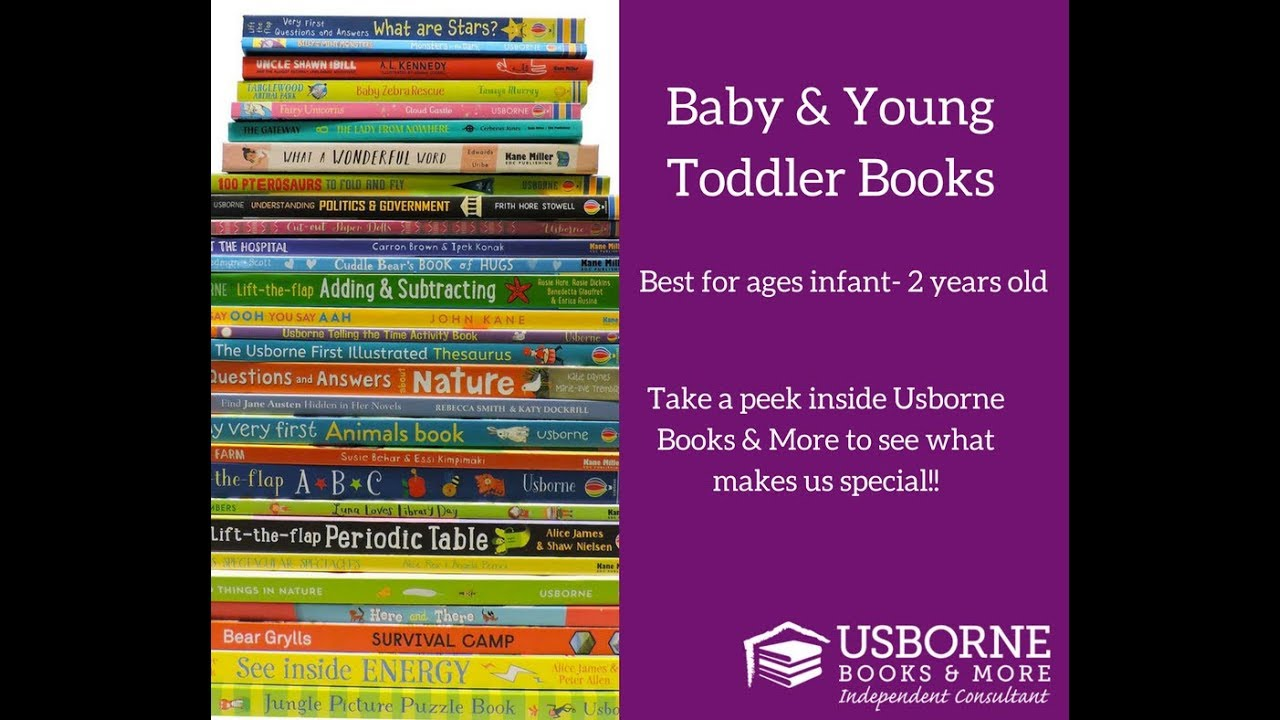 Usborne Books More Baby Young Toddler Books 2018 Youtube