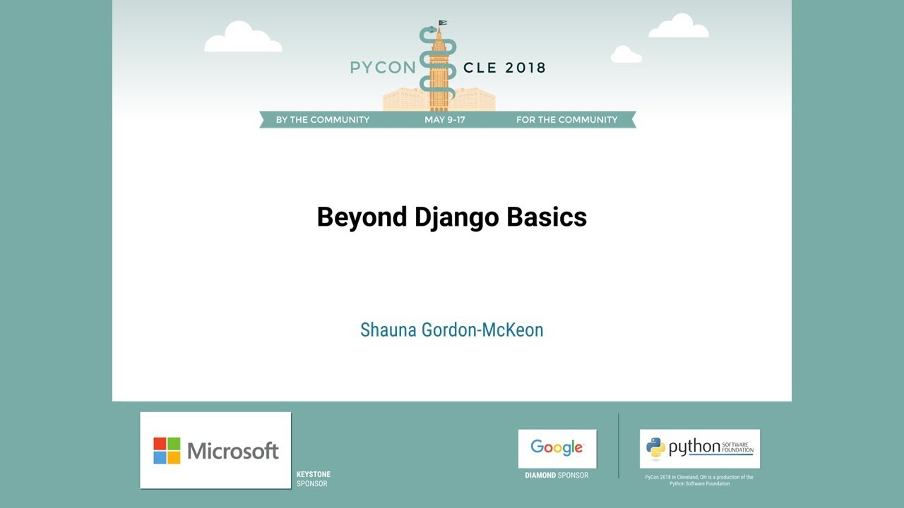 Image from Beyond Django Basics