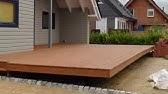 Holzterrasse Mit Hohenverstellbarem Verlegesystem Von Spax Bauen