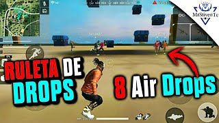 RULETA DE DROPS EN CLASIFICATORIA (8 AIR DROPS) #ClanTc ●FREE FIRE●
