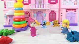 Maşa Renkleri Öğreniyor Masha Koca Ayı ve Clara Yeni Bölüm Çizgi Film Eğitici Çocuk Videoları