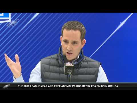 Eagles Press Pass: Executive VP Of Football Operations Howie Roseman (2/28/18)
