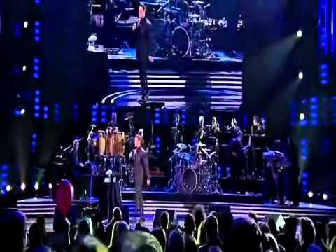 Luis Miguel Y Frank Sinatra Dueto come fly wiht me en vivo