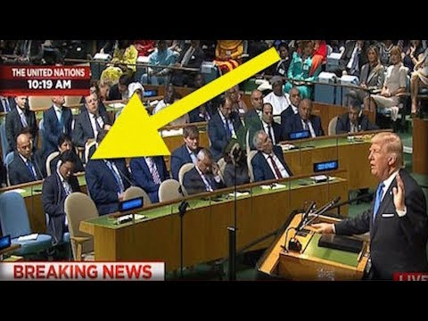 MOMENTS BEFORE TRUMP'S UN SPEECH, THE NORTH KOREAN REP GOT UP AND DID THE UNIMAGINABLE