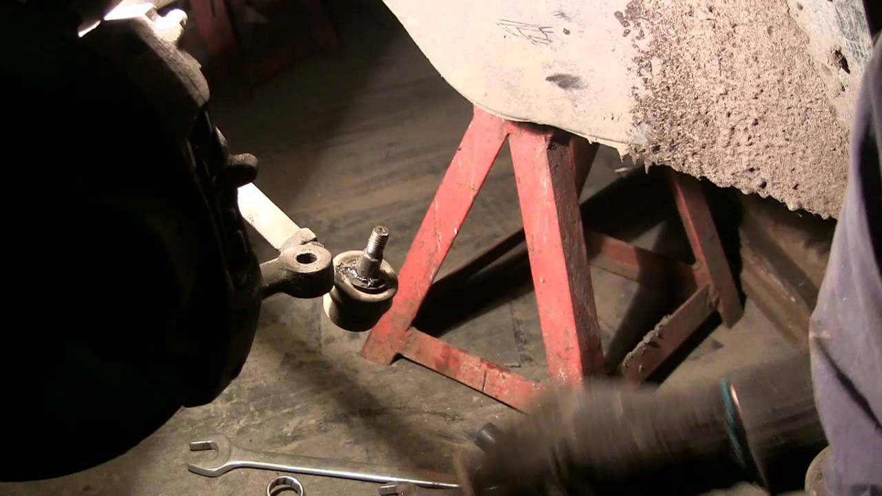 Мерседес w123 замена наконечника рулевой тяги