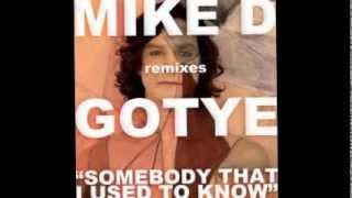 Gotye - somebody that I used to know RADIO MIX! Dj MikeD mix.