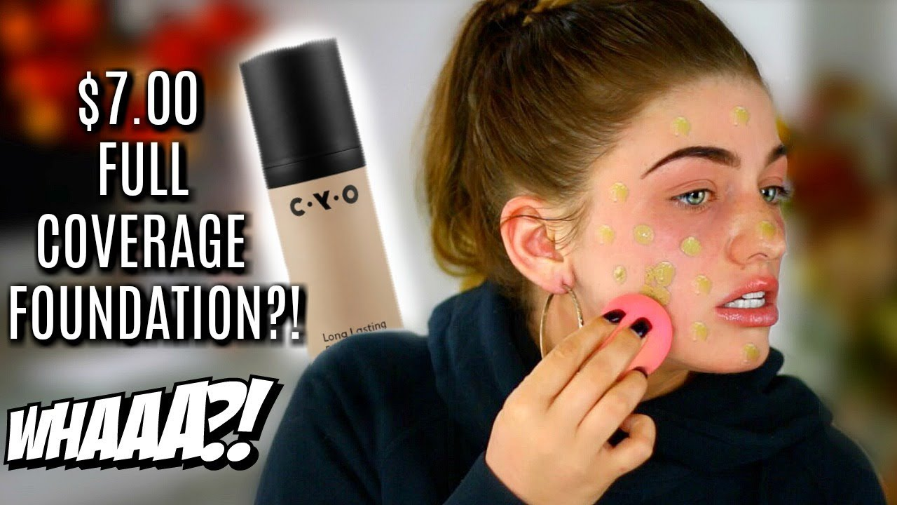 "$7 ""FULL COVERAGE"" FOUNDATION ... WTF?!"