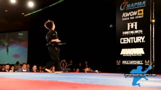 Aidan Kennedy - 13 & Under Boys Weapons ISKA World Championship - US Open 2014