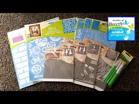 DecoArt Helping Artists Program: Amazing FREE Products!