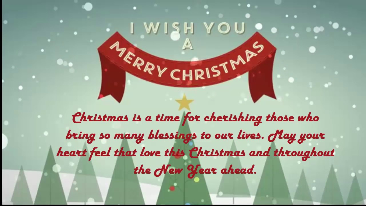 Merry Christmas Wishes For Friends Family New Year Christmas 2017 ...