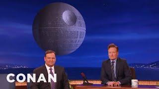 The CONAN Moon Is Now A Death Star  - CONAN on TBS