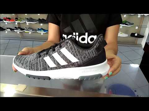 unboxing new adidas cf racer tr (mens gray colour) - YouTube