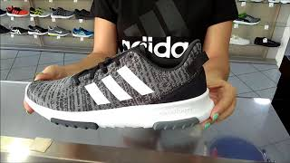 unboxing new adidas cf racer tr (mens gray colour)