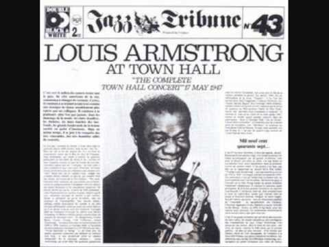 Louis armstrong his all stars ain t misbehavin