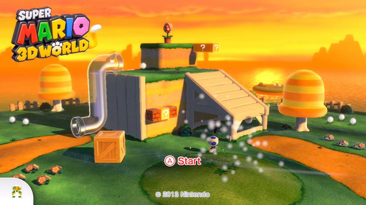 how to play super mario 3d world