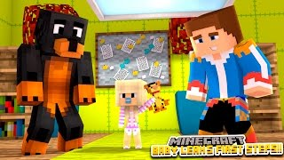 Minecraft - Donut the Dog Adventures -BABY LEAH'S FIRST STEPS!!!!