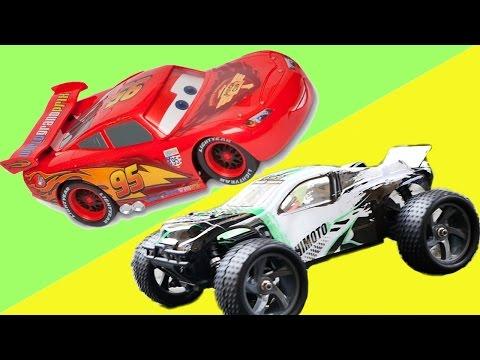 Мультик игра для детей Гонки ТАЧКИ - Молния МАКВИН, Холли ДеЛюкс и Машинки Дисней Disney cars