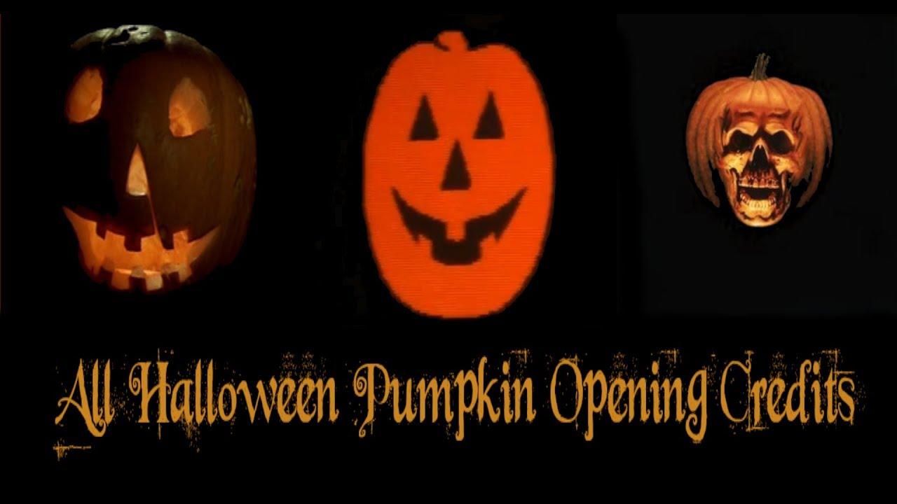 Halloween 2020 Pumpkin Intro All Halloween Opening Pumpkin Credits (1978   2018)   YouTube